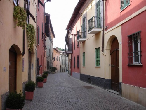 The streets of Novi Ligure