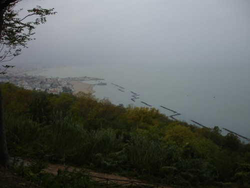The panoramic view of Cattolica