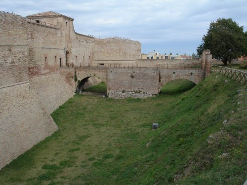 The castle at Fano