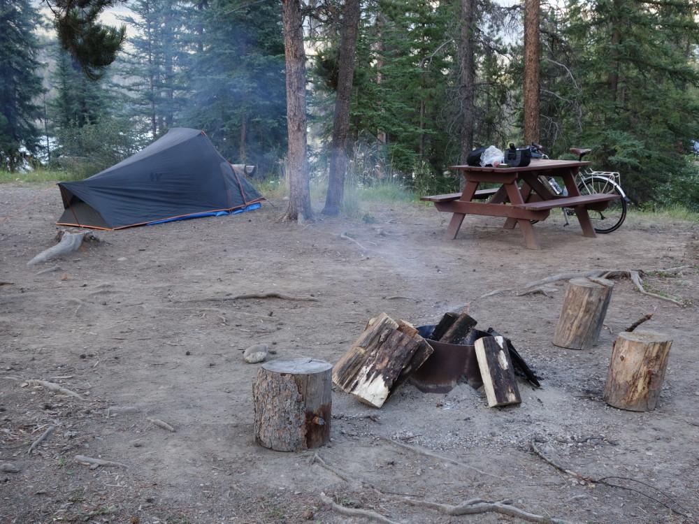 My camp spot