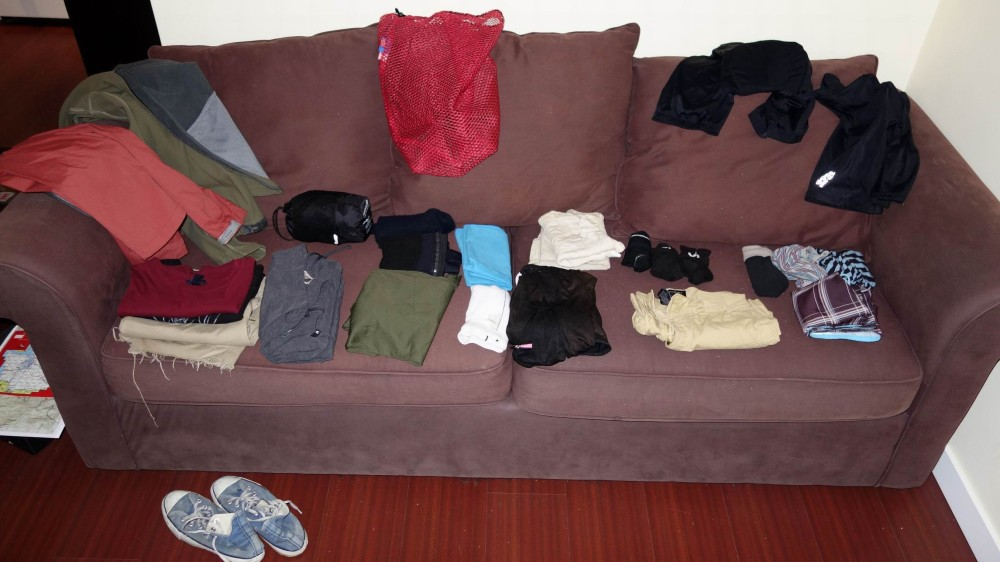 All the clothes