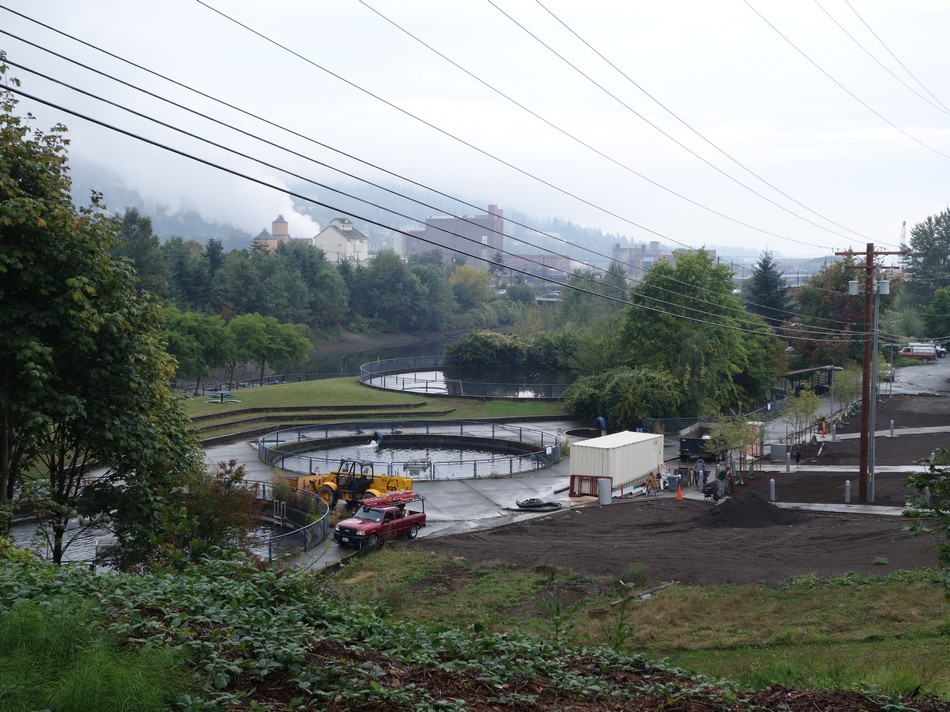 Bellingham water treatment, plus some more plumes