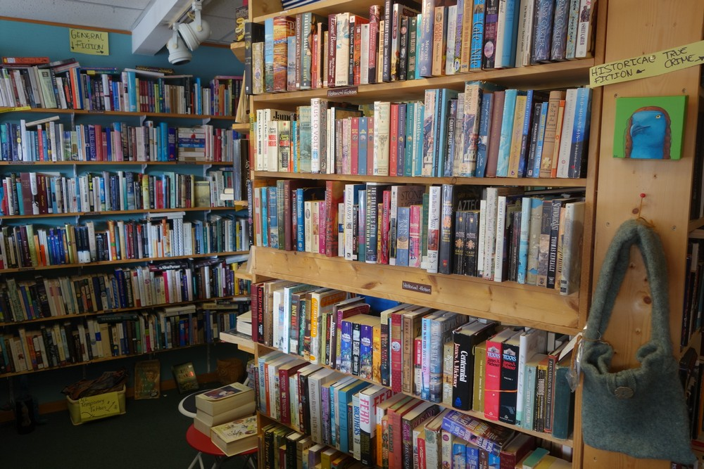 A second hand bookshop in Bandon