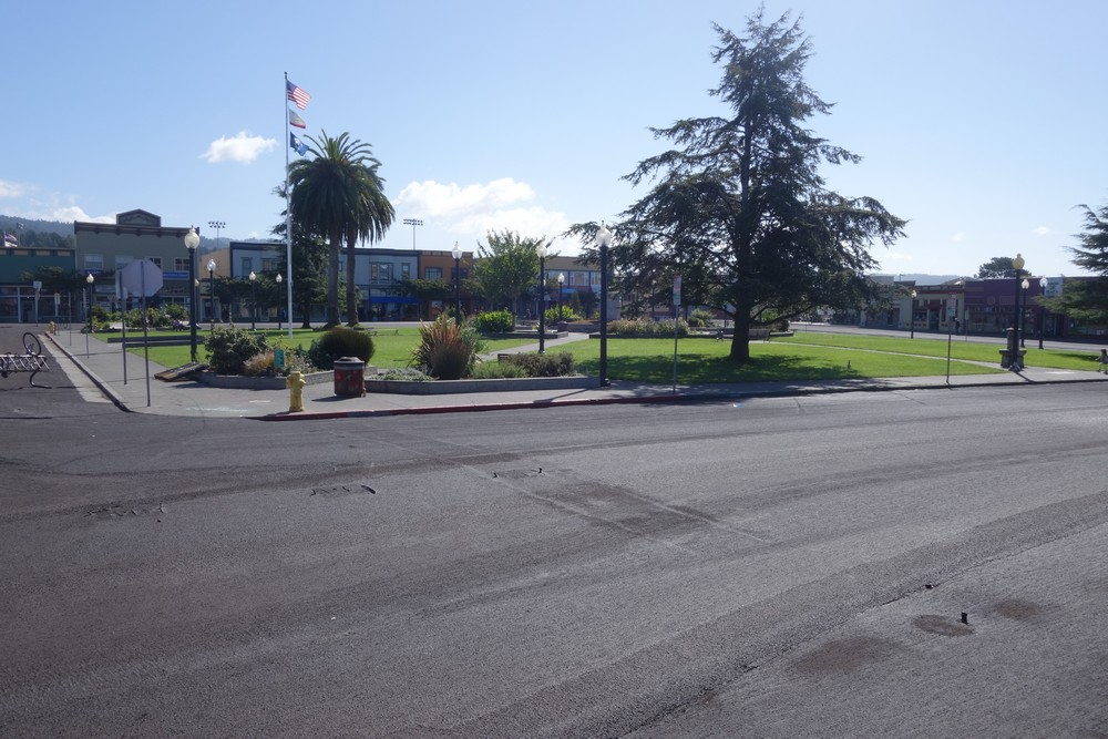 Arcata main square