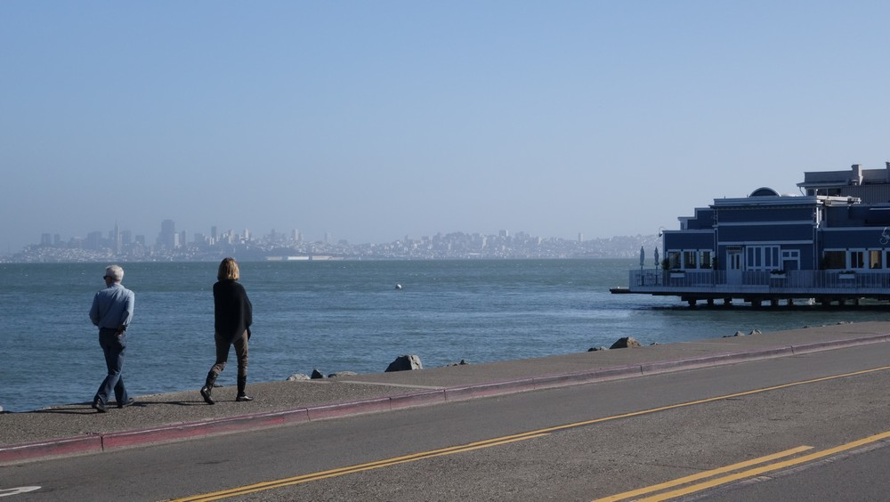The view of San Fransisco from Sausalito